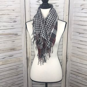 ABERCROMBIE | Checkered Plaid Reversible Scarf